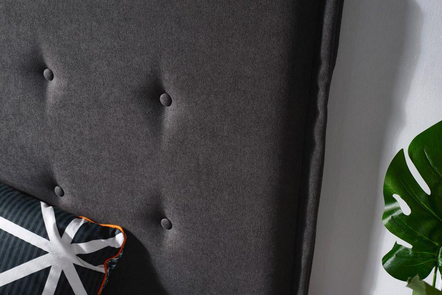 Cabecero tapizado Londres detalle